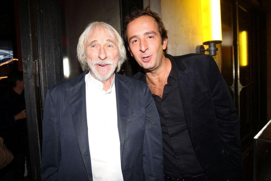 Pierre Richard et Cyrille Eldin aux 30 ans de Canal+
