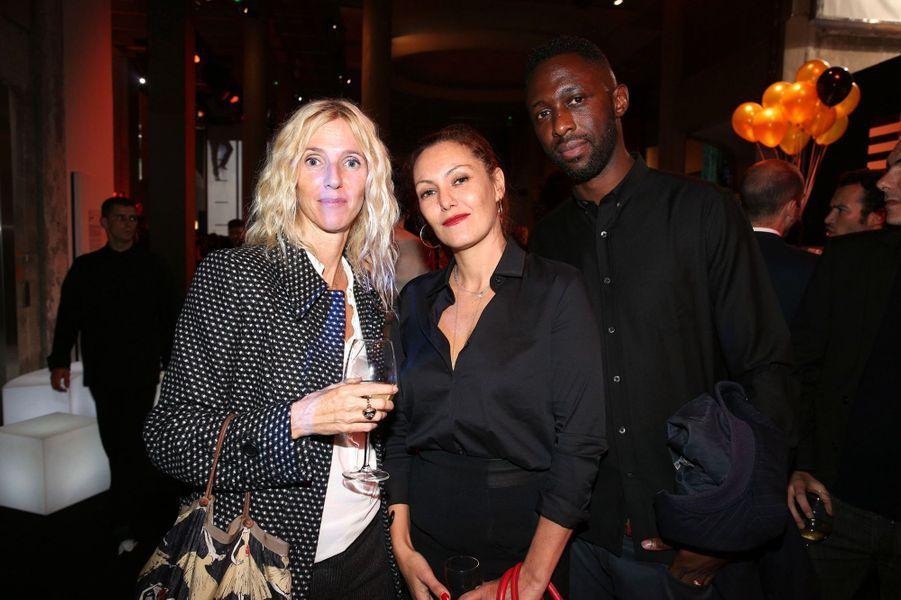 Sandrine Kiberlain, Karole Rocher et Thomas N'Gijol aux 30 ans de Canal+