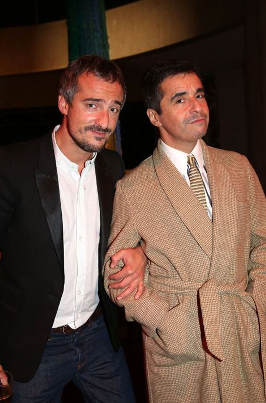 Sébastien Thoen et Ariel Wizman aux 30 ans de Canal+