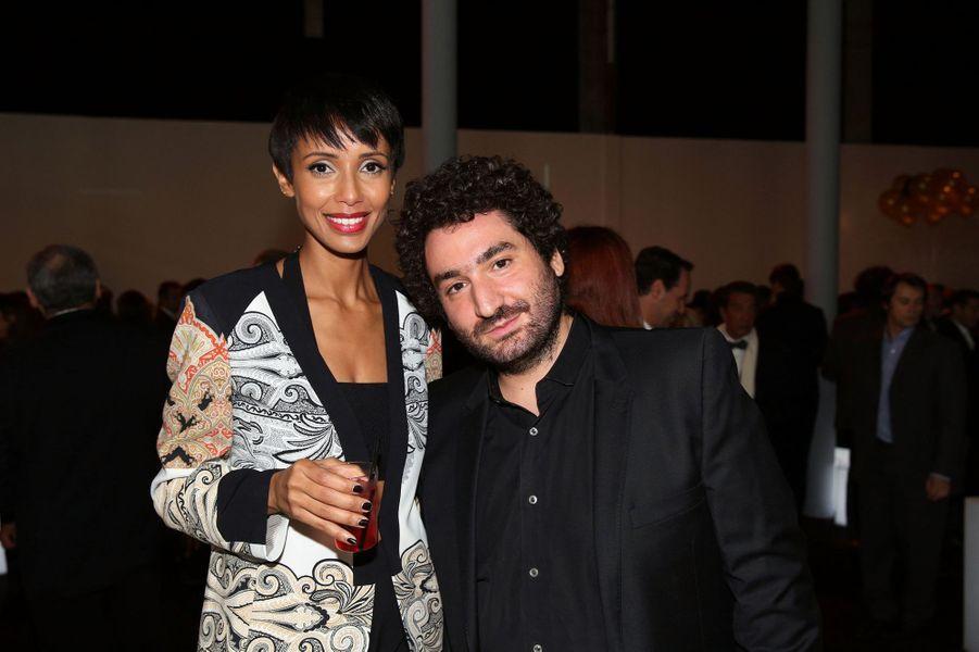 Sonia Rolland et Mouloud Achour aux 30 ans de Canal+