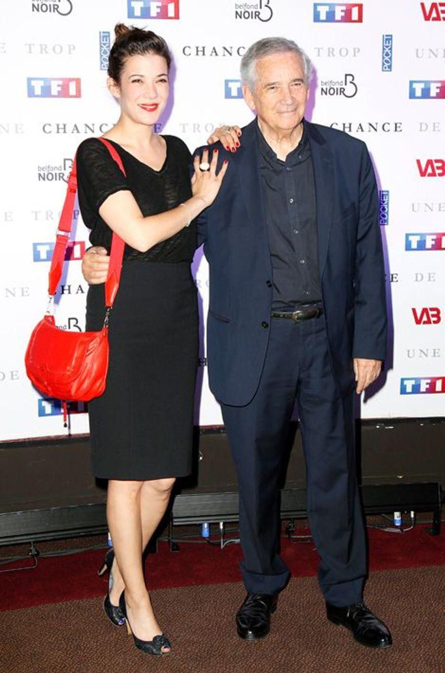 Mélanie Doutey et son père, Alain Doutey