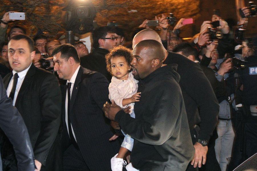 Kanye West et sa fille North découvrent l'Arménie