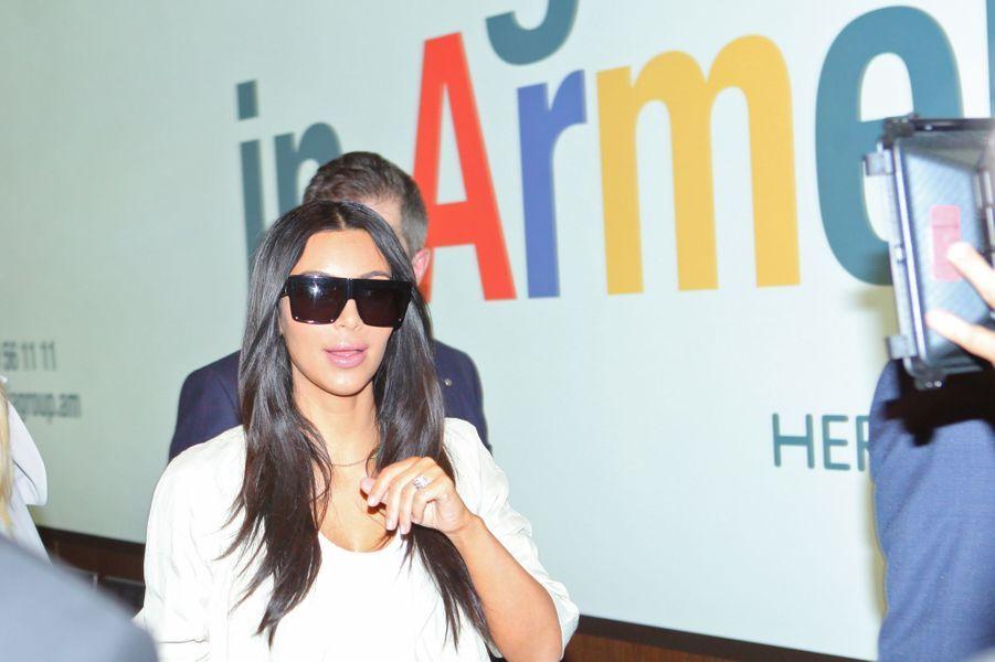 Kim Kardashian arrive en Arménie