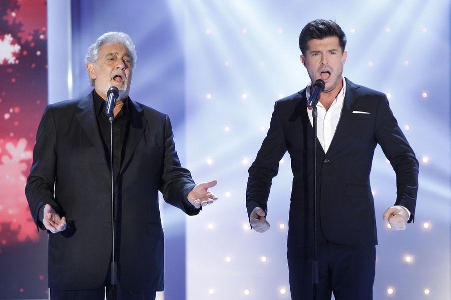 Plácido Domingo et Vincent Niclo