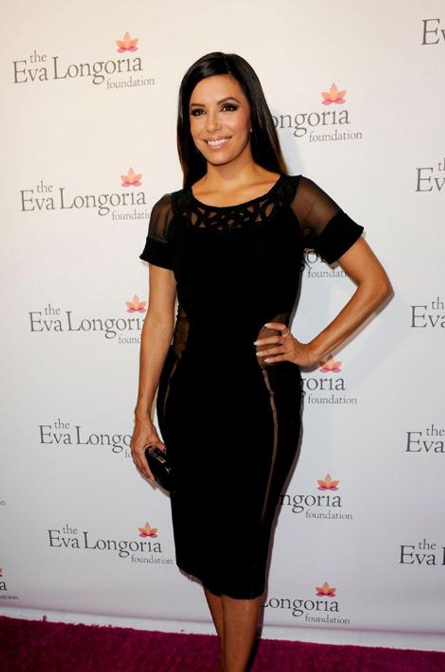 """Au gala de son association """"The Eva Longoria Fondation"""" à Los Angeles le 9 octobre 2014"""