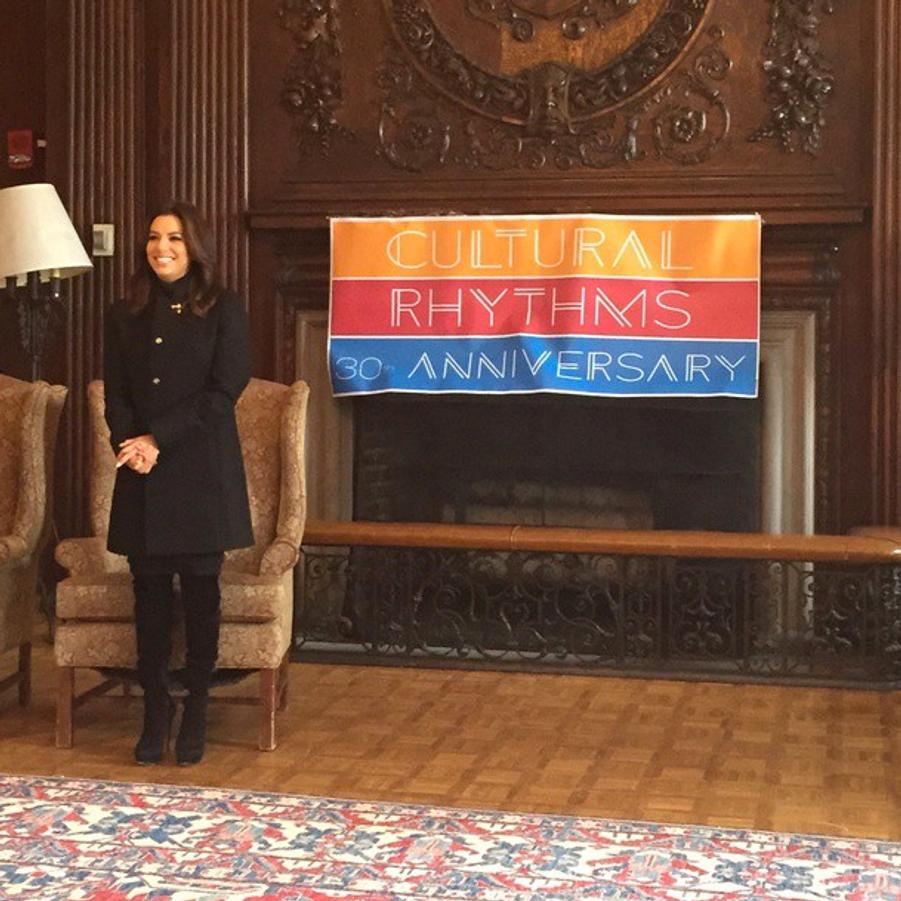 Eva Longoria nommée Artiste de l'année à Harvard le 21 février dernier