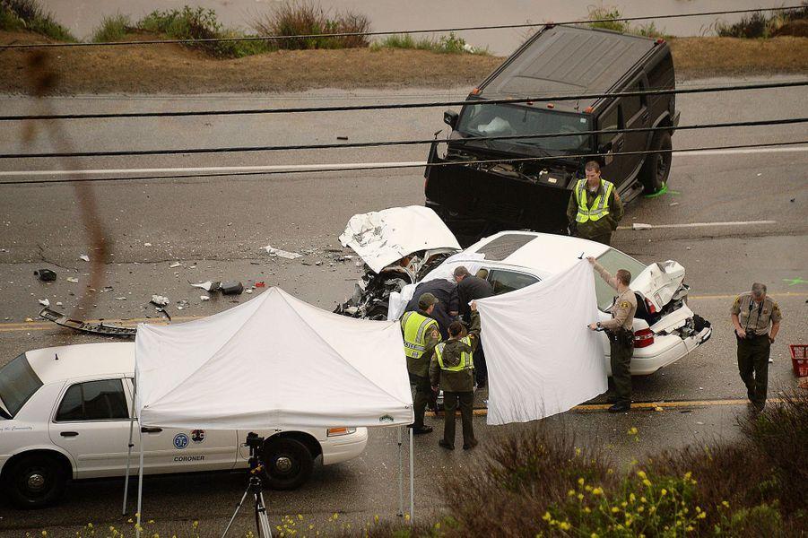 Bruce Jenner a été impliqué dans un accident mortel de la circulation à Los Angeles, le 7 février 2015