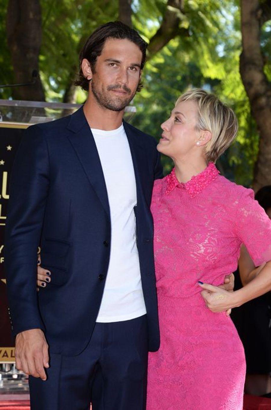 Kaley Cuoco et son époux Ryan Sweeting à Los Angeles le 29 octobre 2014