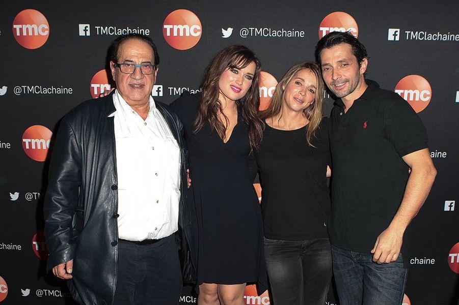Jean-Luc Azoulay, Elsa Esnoult, Hélène Rollès et Sébastien Roch à Paris le 4 novembre 2014