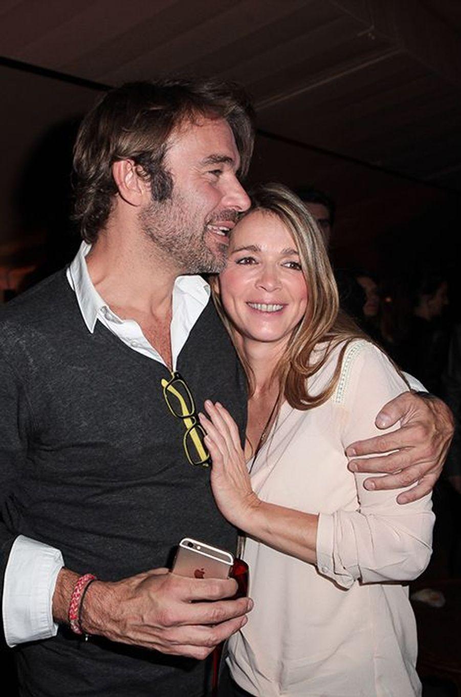 Patrick Puydebat et Hélène Rollès à Paris le 4 novembre 2014