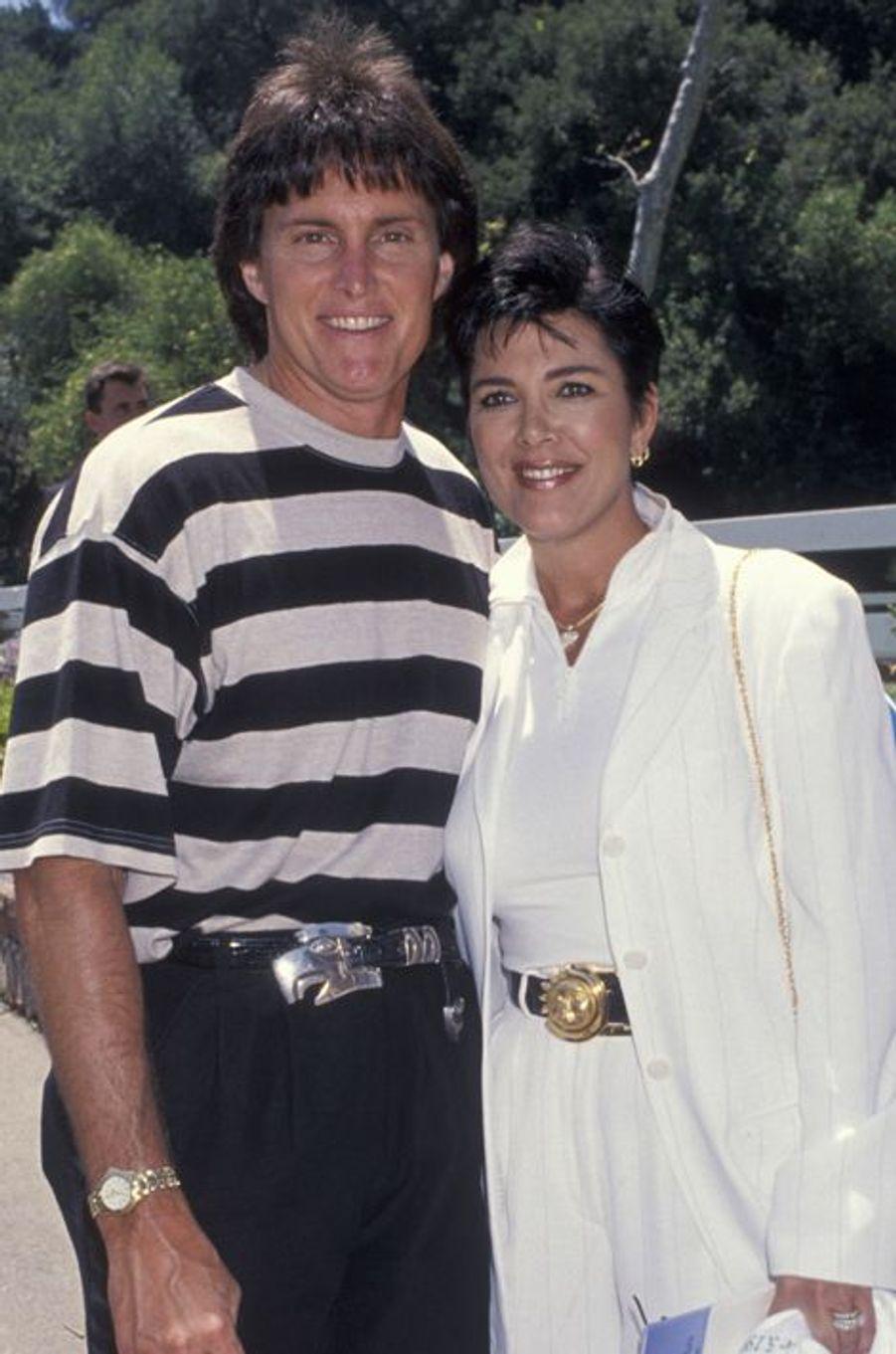 En 1994, avec son ex-mari, Bruce Jenner (aujourd'hui devenue Caitlyn)