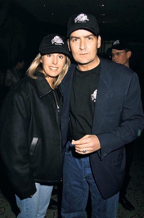 Avec Cathy Hansen en 1991.