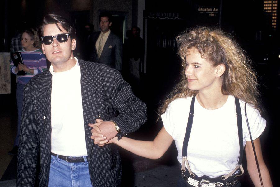 Avec Kelly Preston (devenue Madame John Travolta). En 1990, le couple s'était brièvement fiancé avant de rompre.