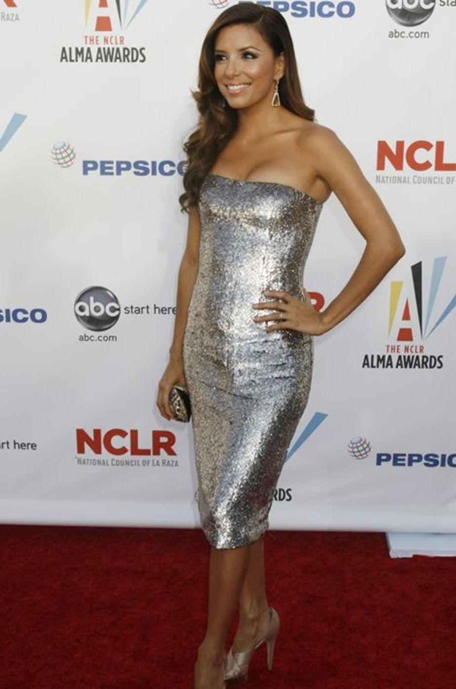 """En robe Marchesa à la cérémonie des """"ALMA Awards"""", le 17 septembre 2009 à Los Angeles"""