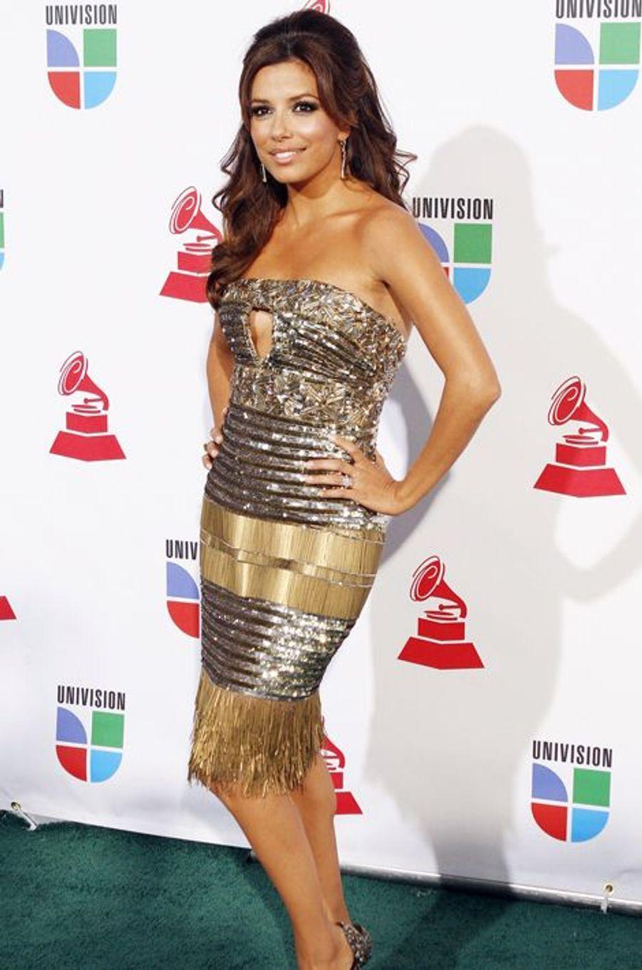 """En robe Zuhair Murad à la 10e édition des """"Latin Grammy Awards"""", le 5 novembre 2009 à Las Vegas"""