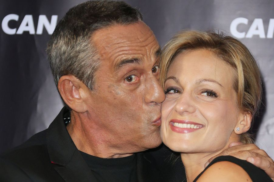 Thierry Ardisson et sa femme