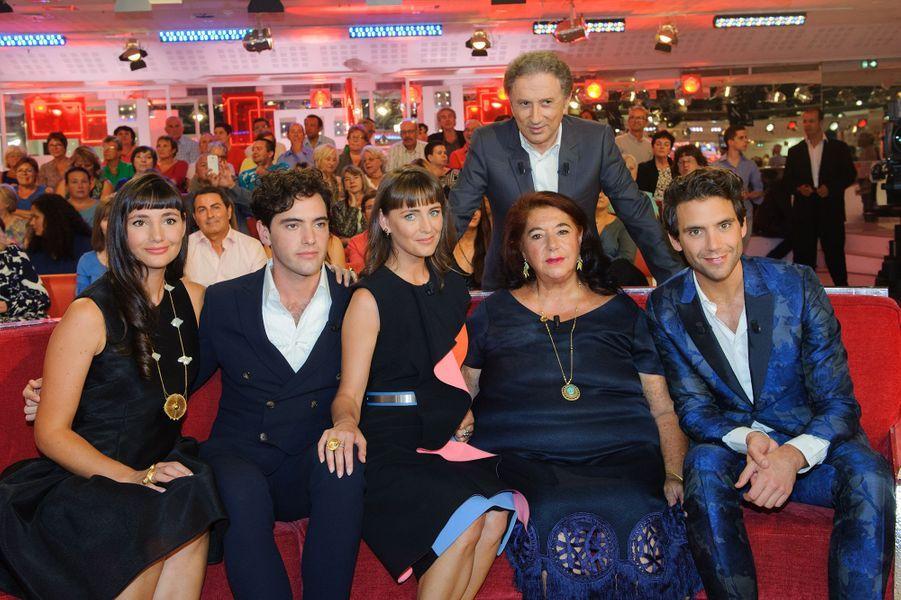 Mika en famille