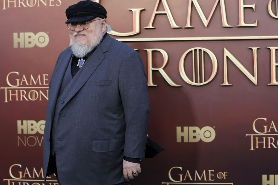 "Le créateur de ""Game of Thrones"" George R.R. Martin"