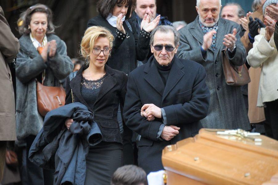 Julia Duchaussoy et André Matheron à l'église Saint-Roch de Paris