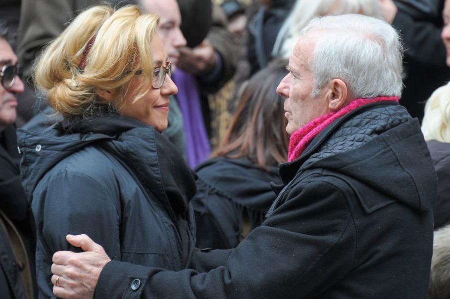 Julia Duchaussoy et Pierre Douglas à l'église Saint-Roch de Paris