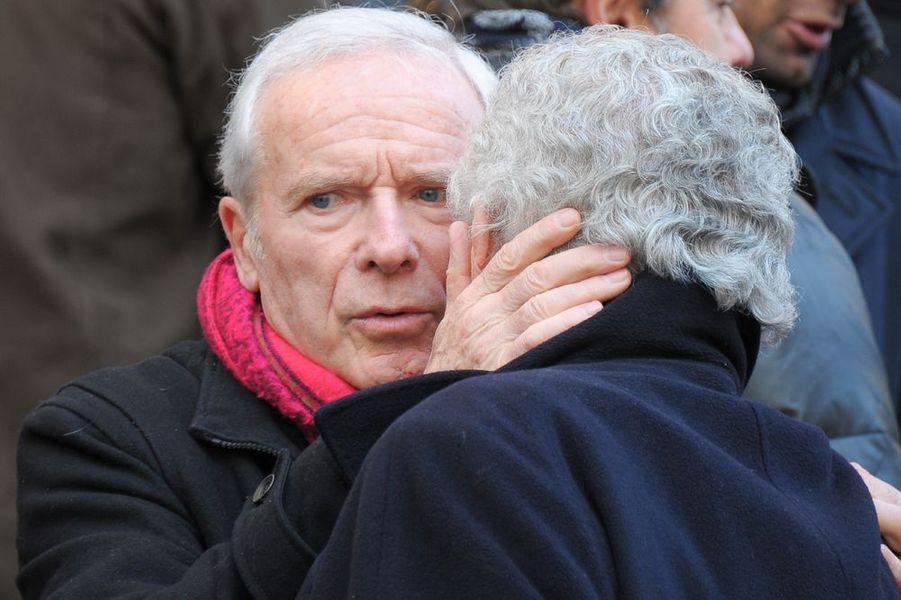 Pierre Douglas et Patrick Préjean à l'église Saint-Roch de Paris
