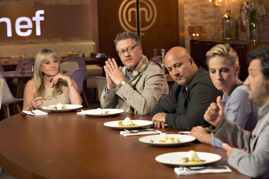 Le «Gérard de l'émission culinaire où les andouilles, les tartes, les quiches, les jambons et les pintades ne sont pas seulement dans les assiettes» a été décerné à l'émission de TF1. Sébastien Demorand, Frédéric Anton et Yves Camdeborde composent le jury.