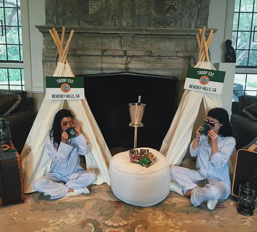 Kourtney Kardashian et Kylie Jenner