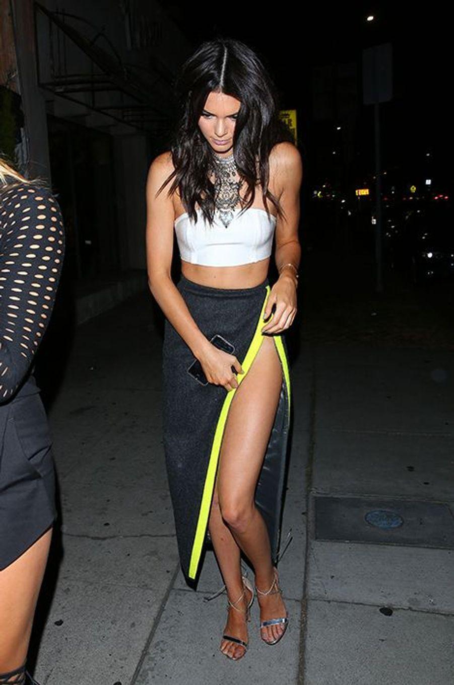Kendall Jenner à Los Angeles le 9 août 2015