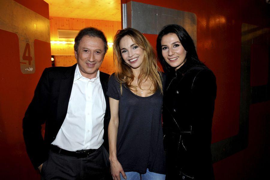 Avec Claire Keim et Marie Drucker le 24 janvier 2010