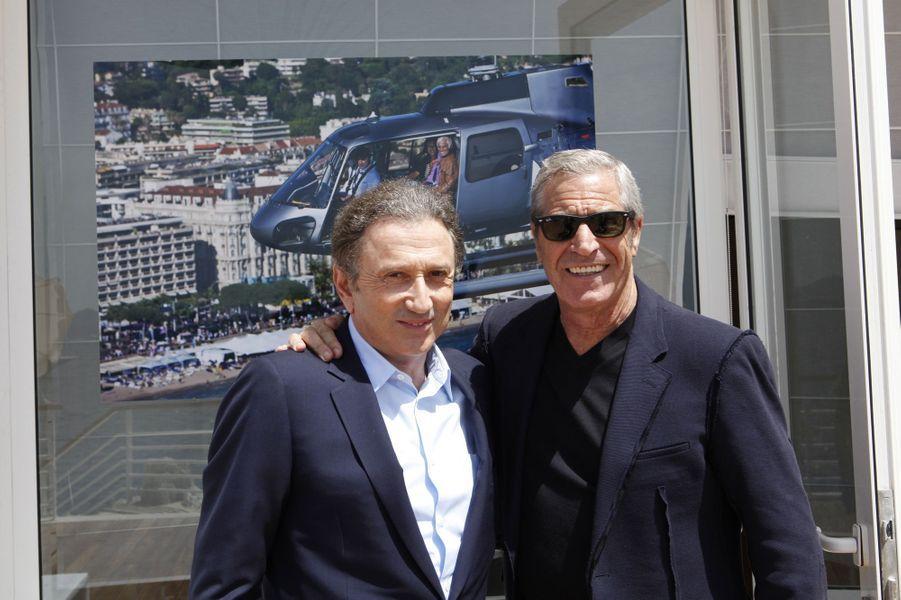 Avec Jean-Claude Darmon à Antibes le 17 mai 2012