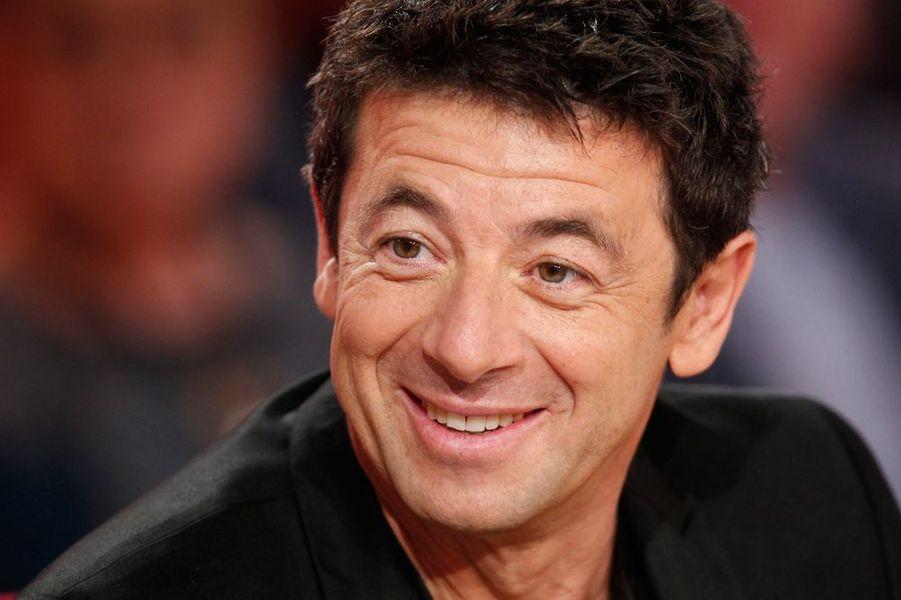 """Patrick Bruel lors de l'enregistrement de l'émission """"Vivement Dimanche"""", le 28 octobre 2015"""