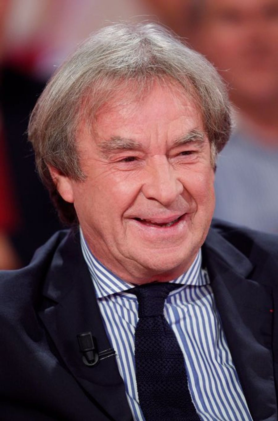 Jean-Michel Wilmotte lors de l'enregistrement de «Vivement Dimanche» le 2 septembre 2015.