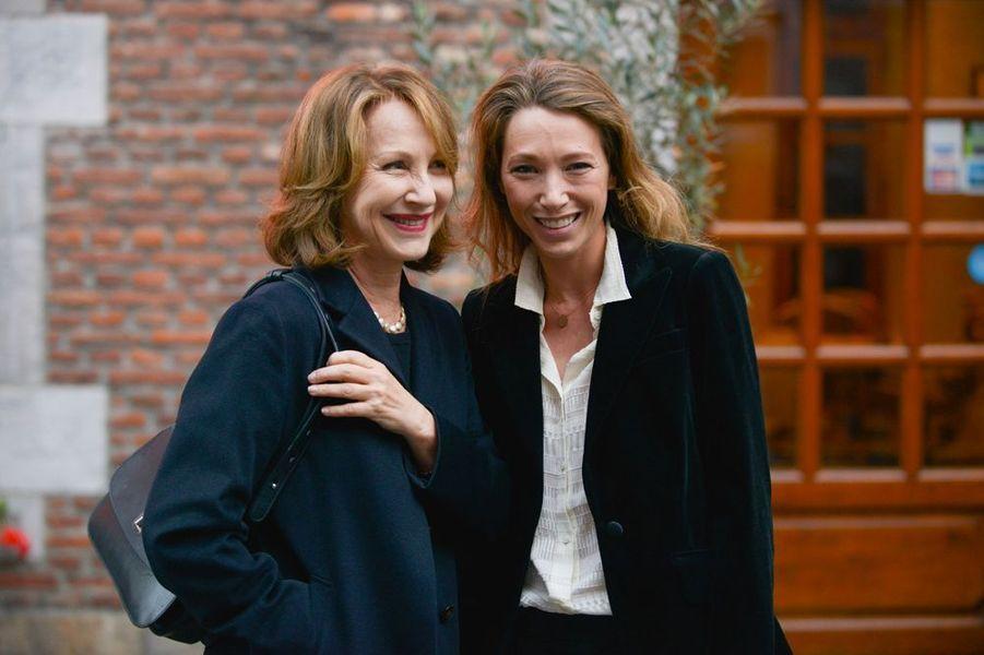 Mère et fille, en Belgique, le 2 octobre 2015