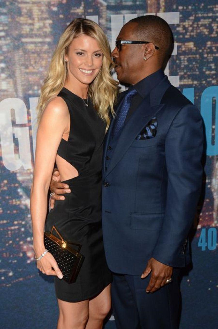 Eddie Murphy et sa compagne, Paige Butcher, à New York le 15 février 2015