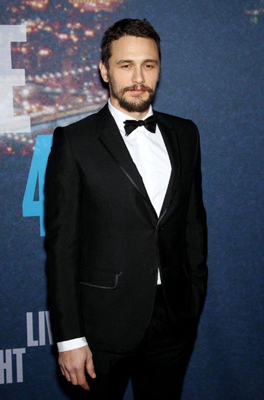 James Franco à New York le 15 février 2015