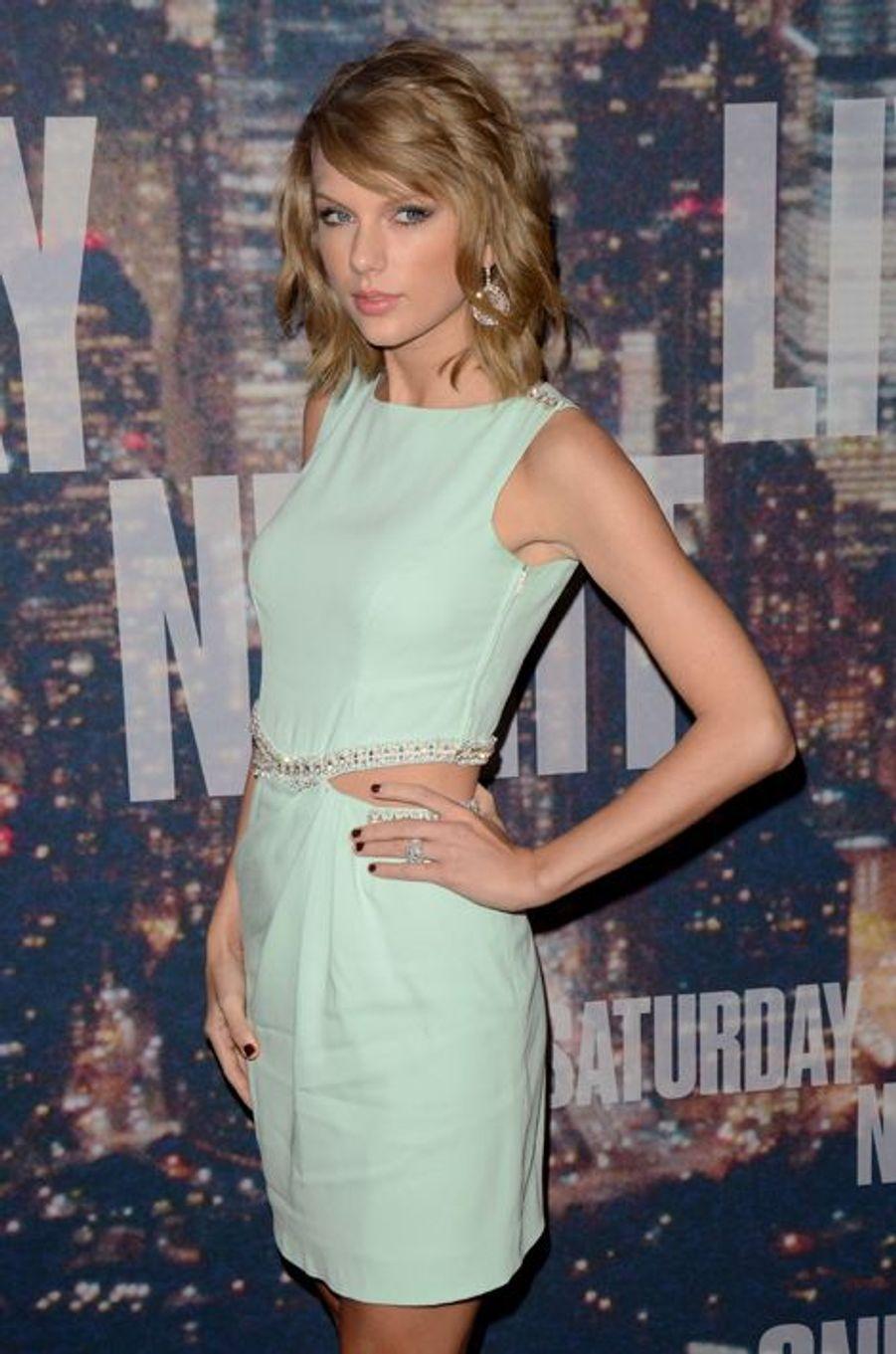 Taylor Swift à New York le 15 février 2015