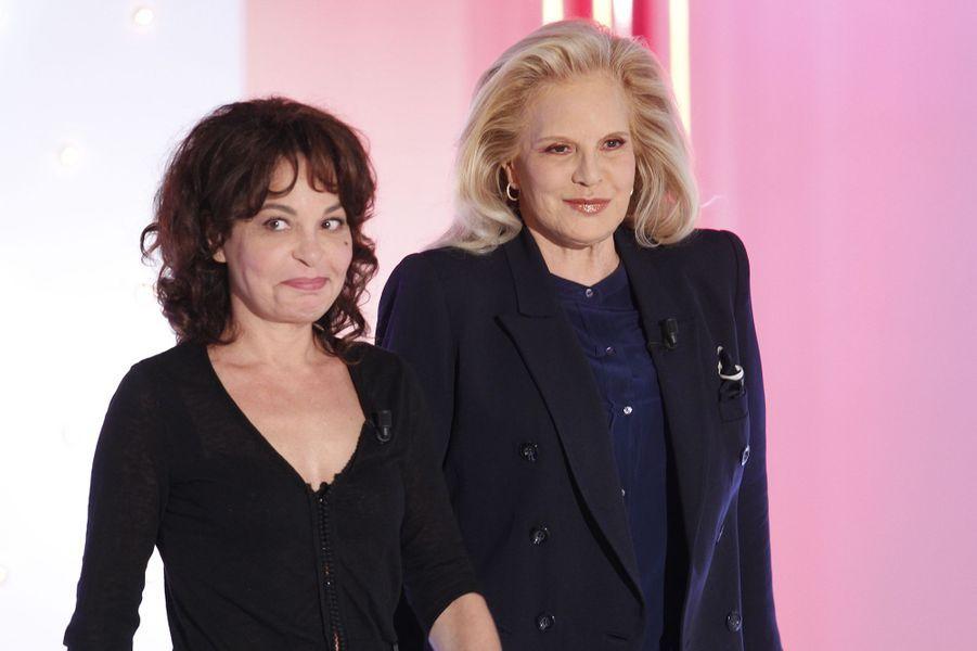 Isabelle Mergault et Sylvie Vartan