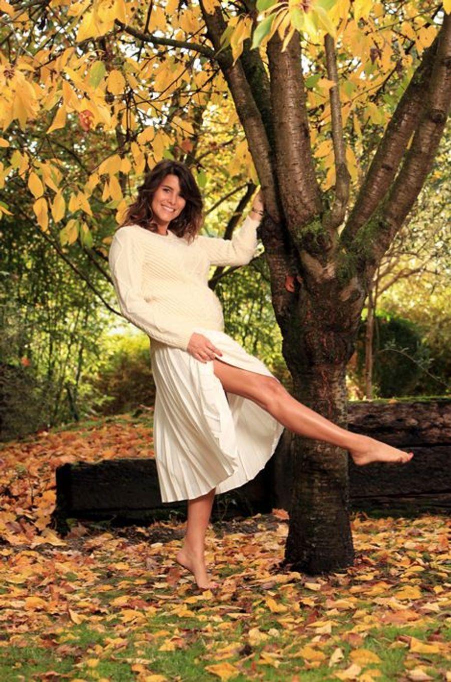 A chacun son terrain de jeu. Celui de Karine a la beauté d'un parc en automne.