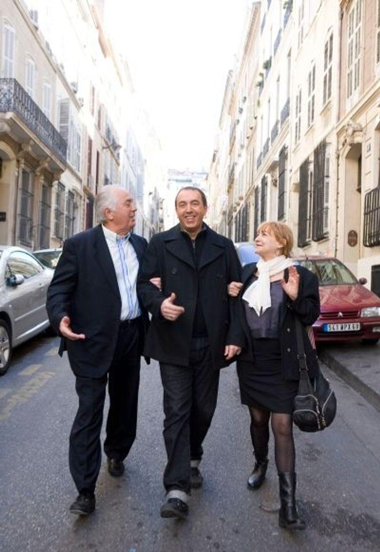 Retour aux sources pour le Marseillais Morandini, entre ses parents, Rosalie et Laurent.