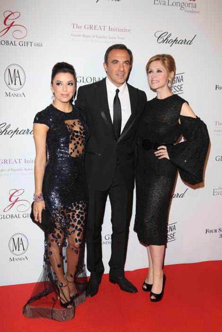 Eva, Nikos et Lara Fabian