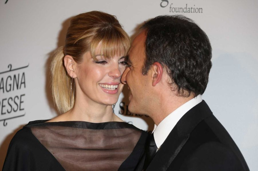 Nikos Aliagas et sa fiancée, Tina Grigoriou