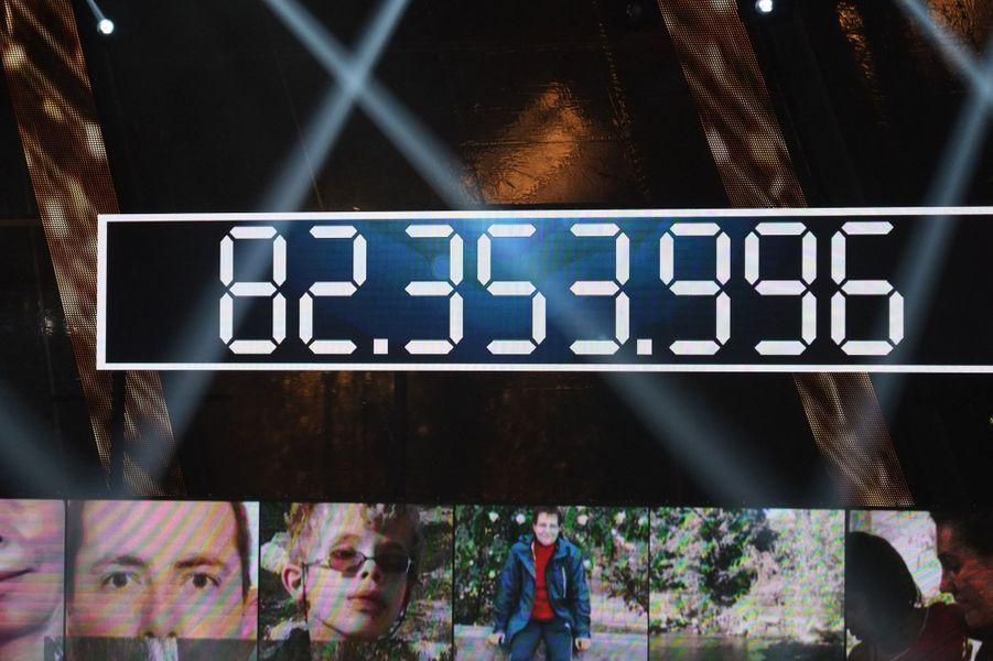 Le Téléthon 2014 a dépassé les 82 millions de promesses de dons, le 7 décembre