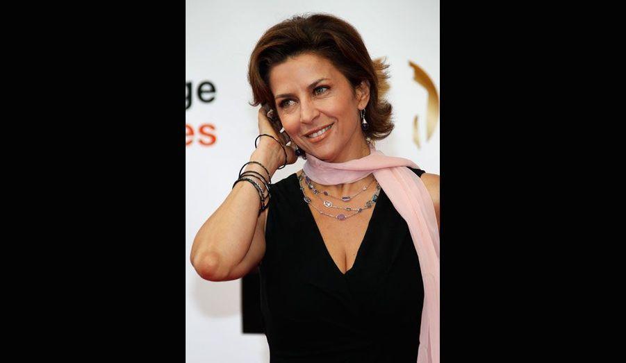 La «femme d'honneur» Corinne Touzet