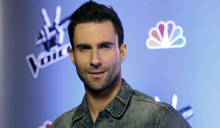 """Adam Levine a partagé l'affiche de """"The Voice"""" avec Christina Aguilera. Lors de la première saison de l'émission, son protégé avait remporté la victoire."""