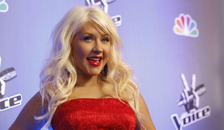 """Pour la deuxième saison de """"The Voice US"""", Christina Aguilera a accepté de faire partie du show. A cause de ses nombreux caprices, la star ne serait toutefois pas certaine de participer à l'émission l'an prochain."""