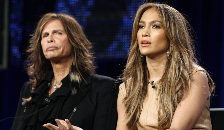 """Jennifer Lopez et Steven Tyler se sont retrouvés côte à côte pour la onzième édition du concours """"American Idol""""."""