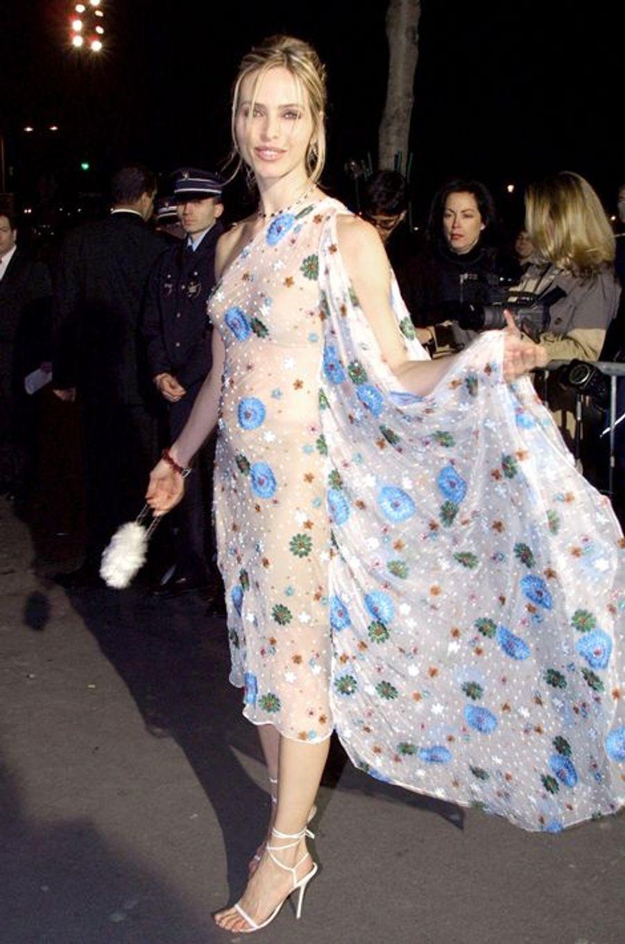 Tonya Kinzinger à la cérémonie des Césars 2002