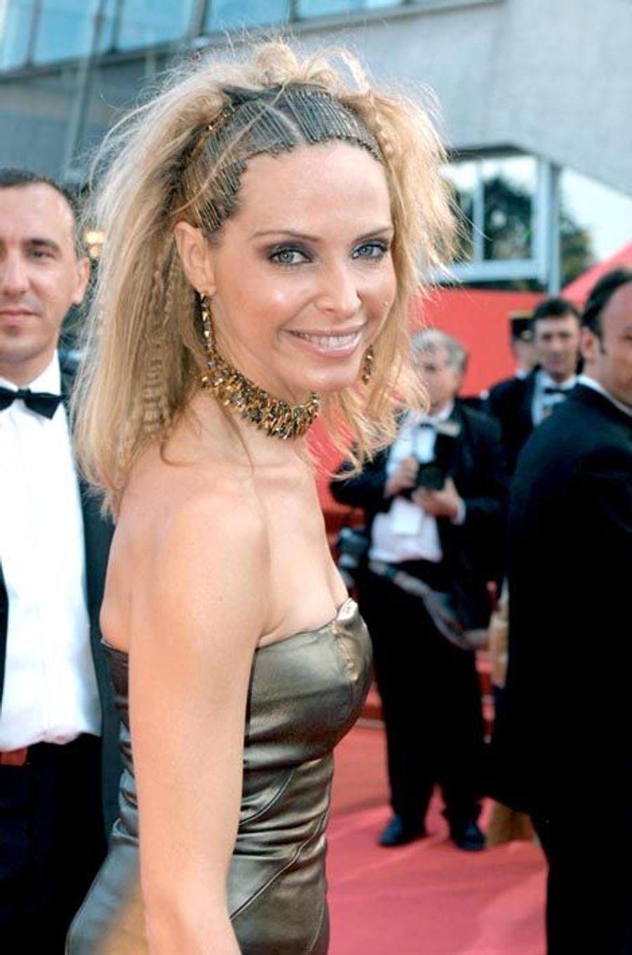 Tonya Kinzinger au Festival de Cannes 2001