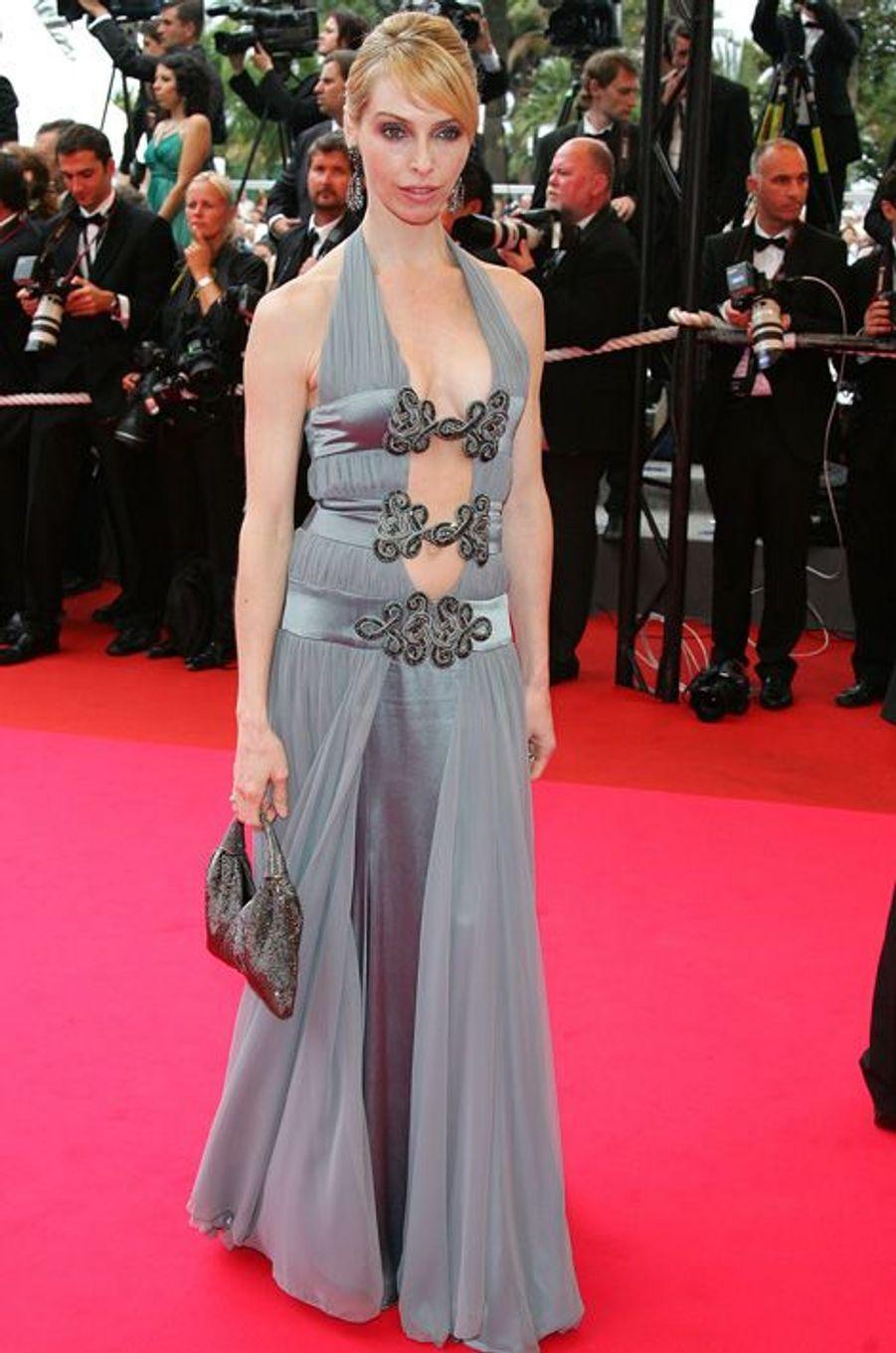 Tonya Kinzinger au Festival de Cannes en 2008