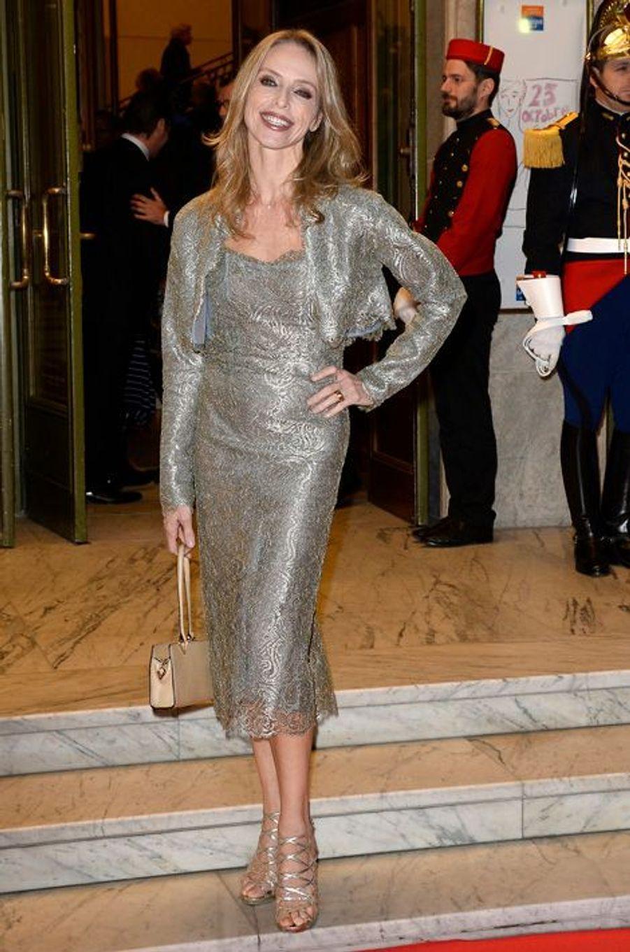 Tonya Kinzinger au gala de l'espoir Ligue contre le cancer, 2014